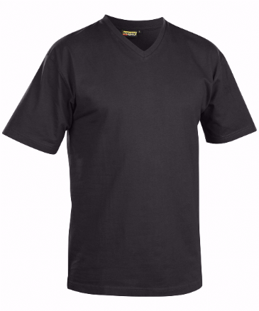 Blaklader 3360 T-Shirt, V-Neck (Black)